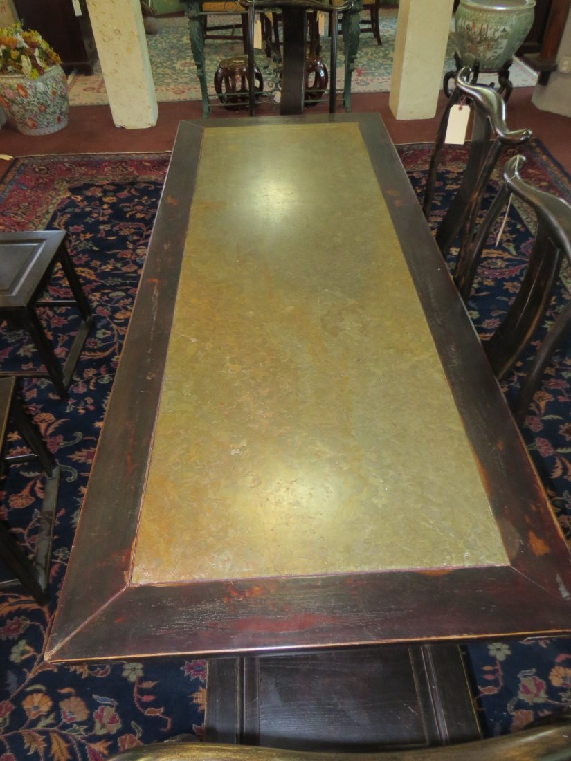 A Chinese Calligraphy Table. - 6