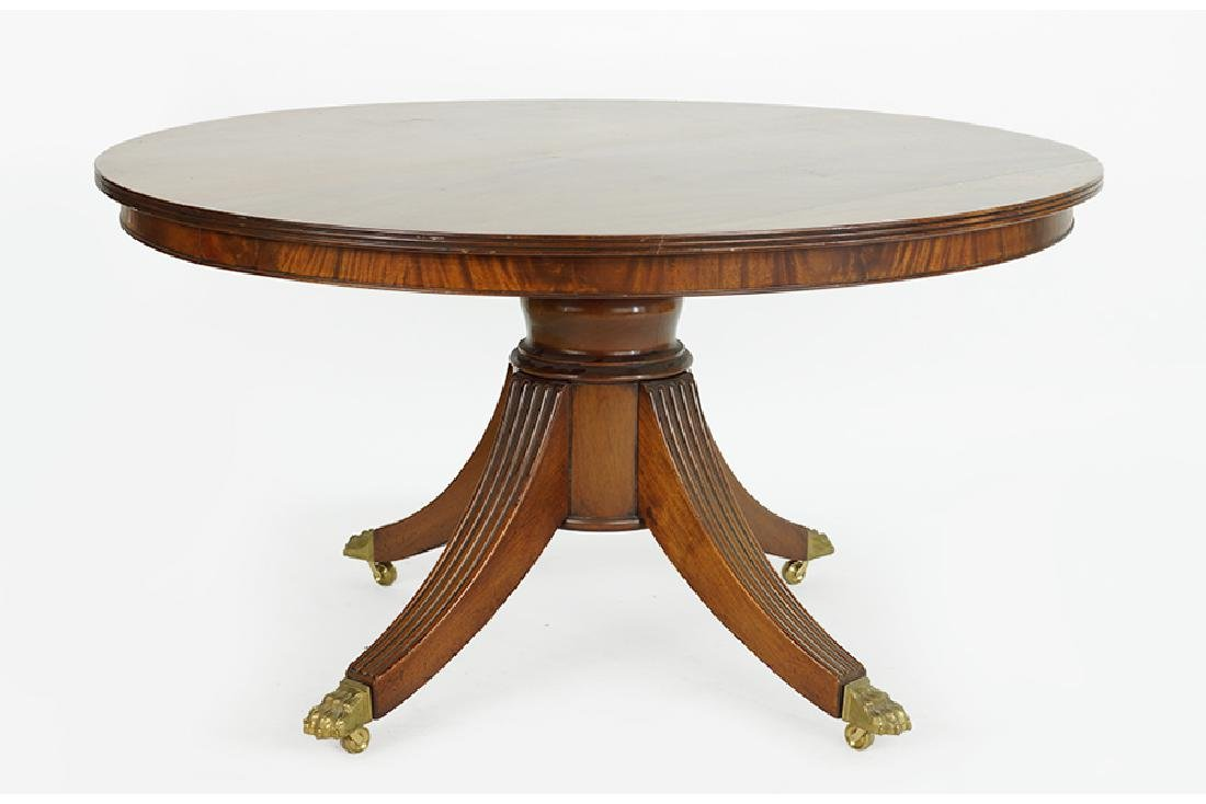 A Regency Style Dining Table.