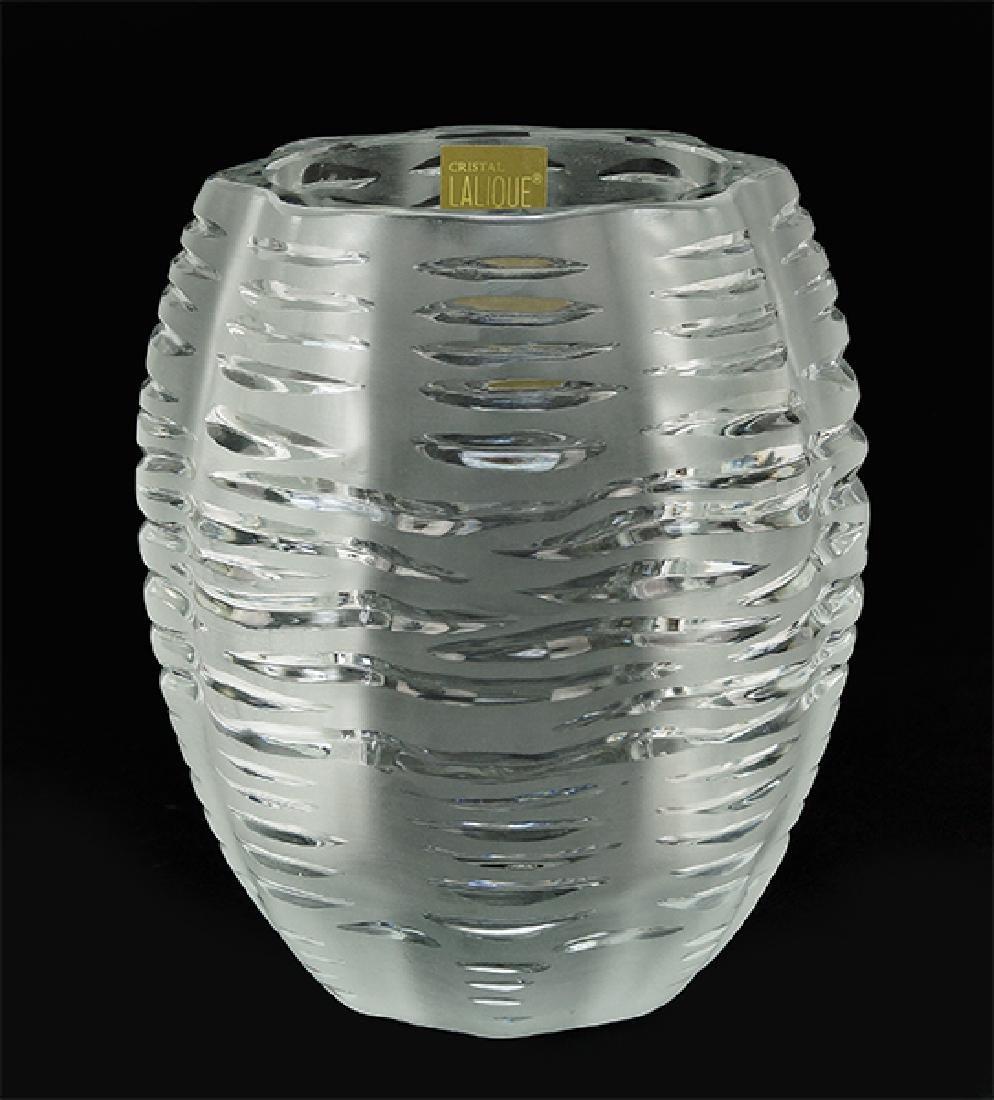 A Lalique Vase.