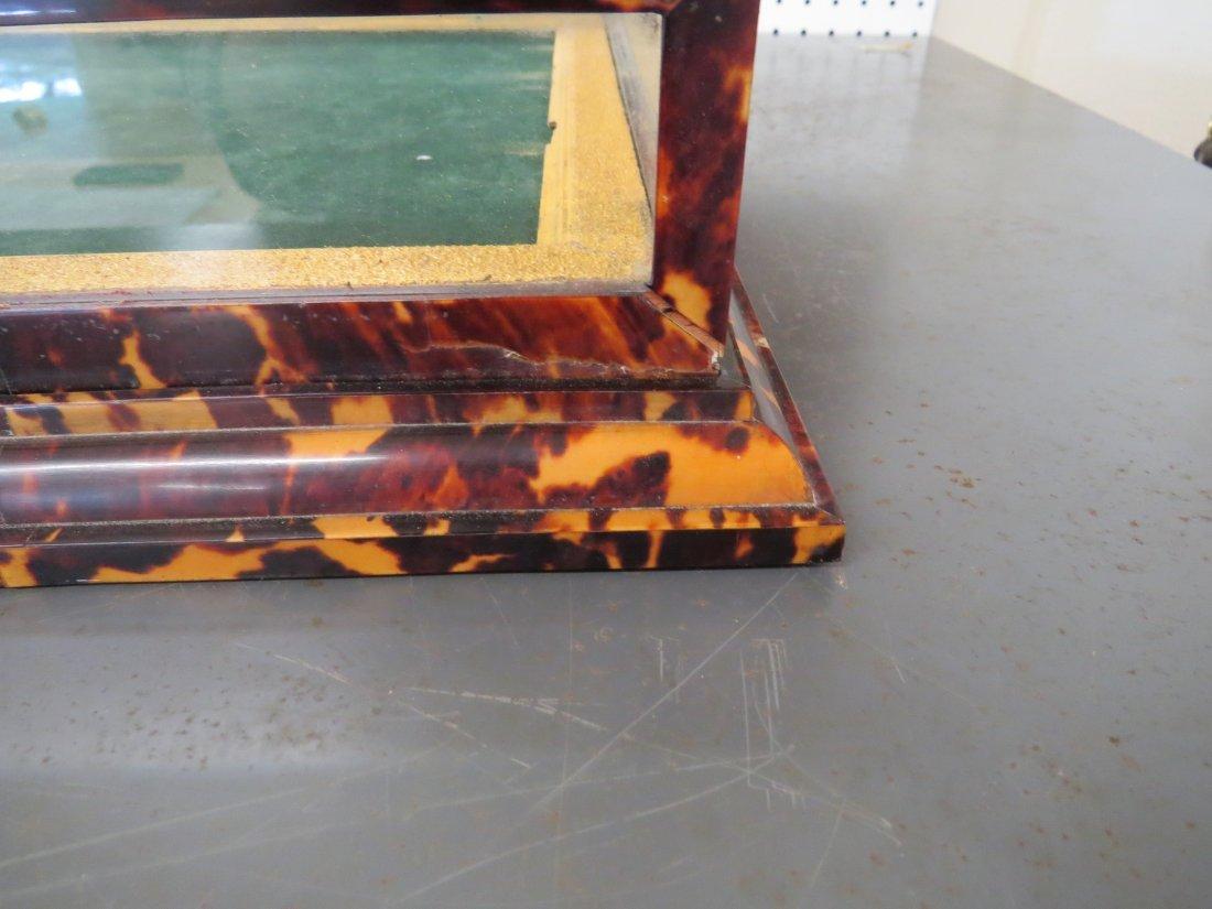 A Tortoiseshell Display Case. - 2