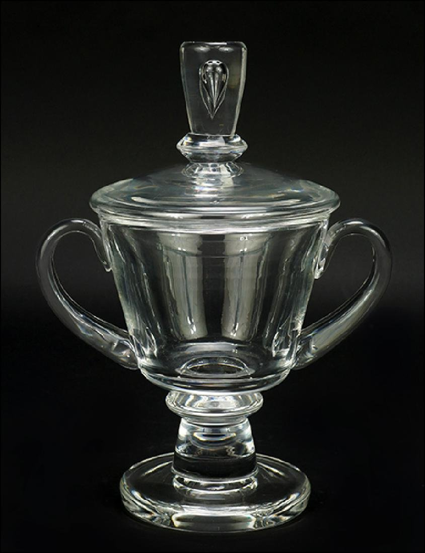 A Steuben Covered Urn.