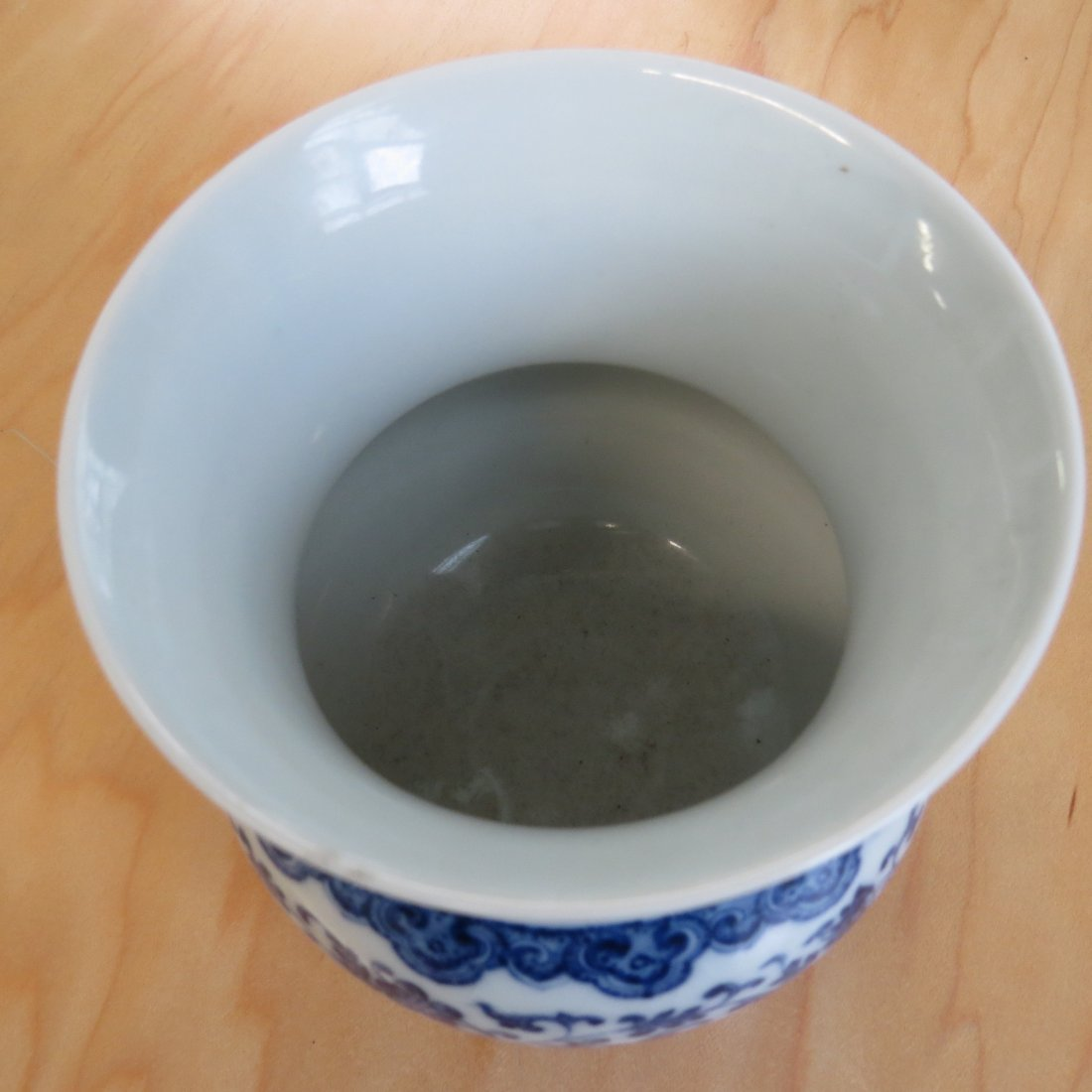 A Chinese Blue and White Porcelain Vase. - 3