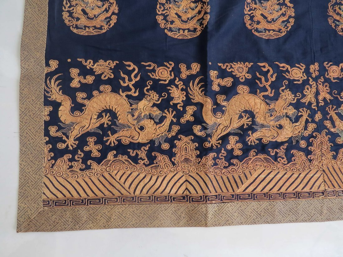 A Chinese Embroidered Panel. - 3