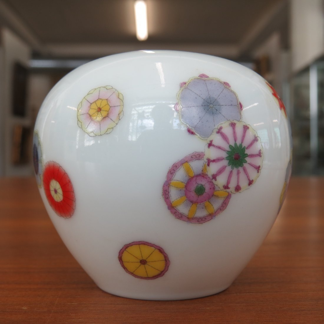 A Chinese Yellow Glazed Porcelain Cup. - 7