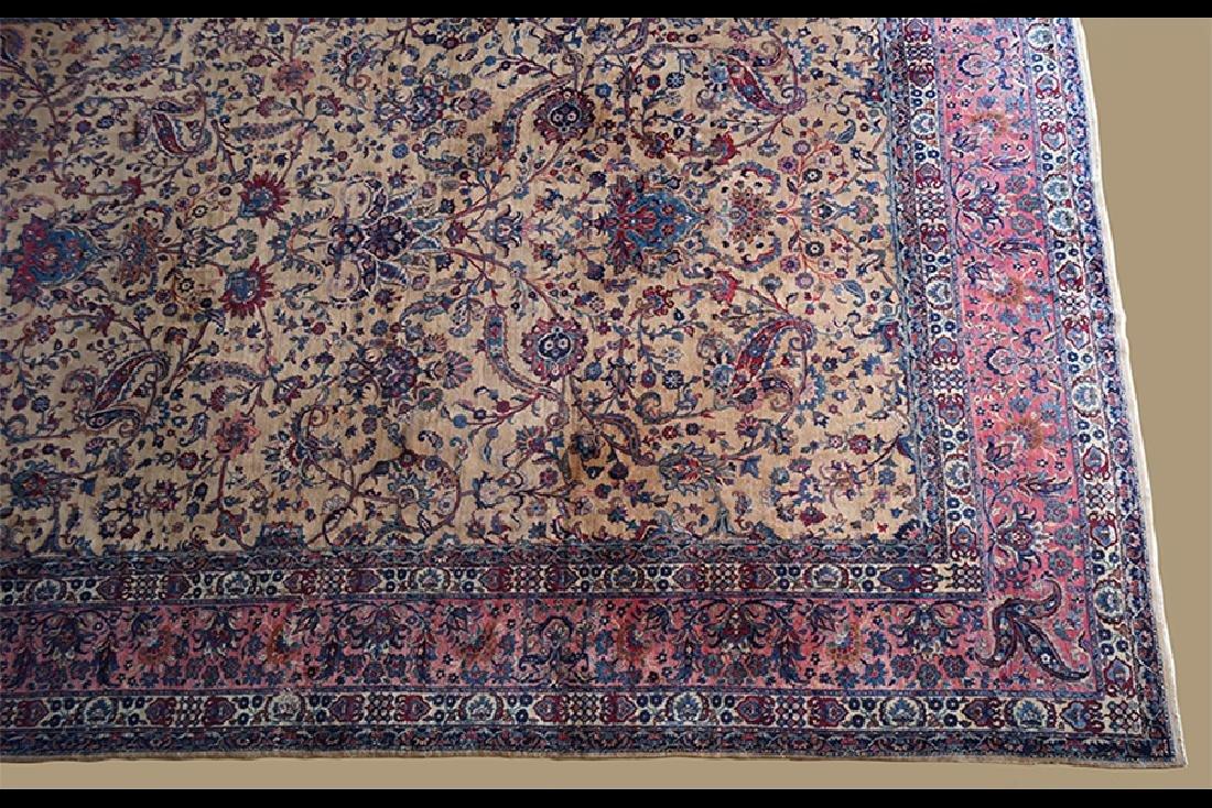 A Persian Isfahan Carpet.