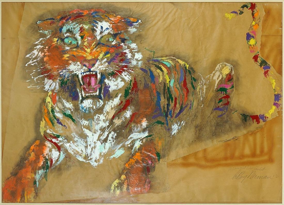 Leroy Neiman (American, 1921-2012) Tiger.