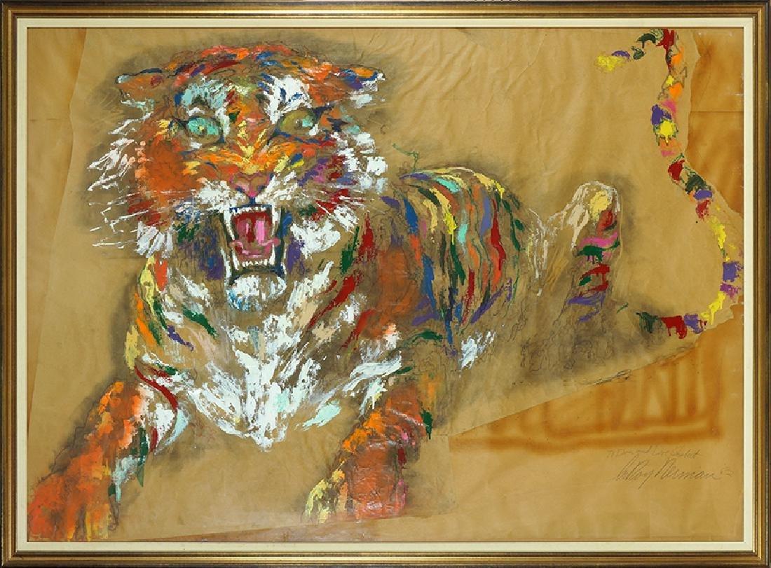 Leroy Neiman (American, 1921-2012) Tiger. - 2