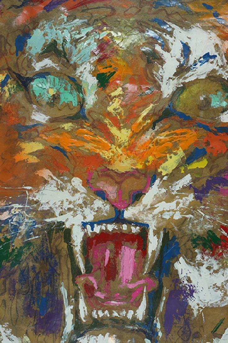 Leroy Neiman (American, 1921-2012) Tiger. - 4