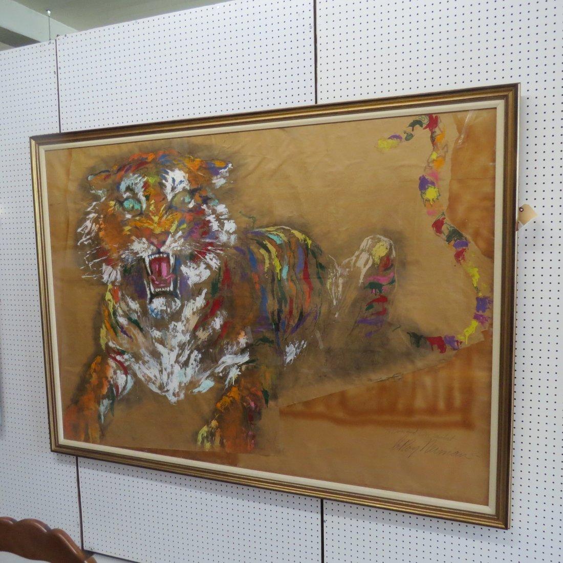Leroy Neiman (American, 1921-2012) Tiger. - 5