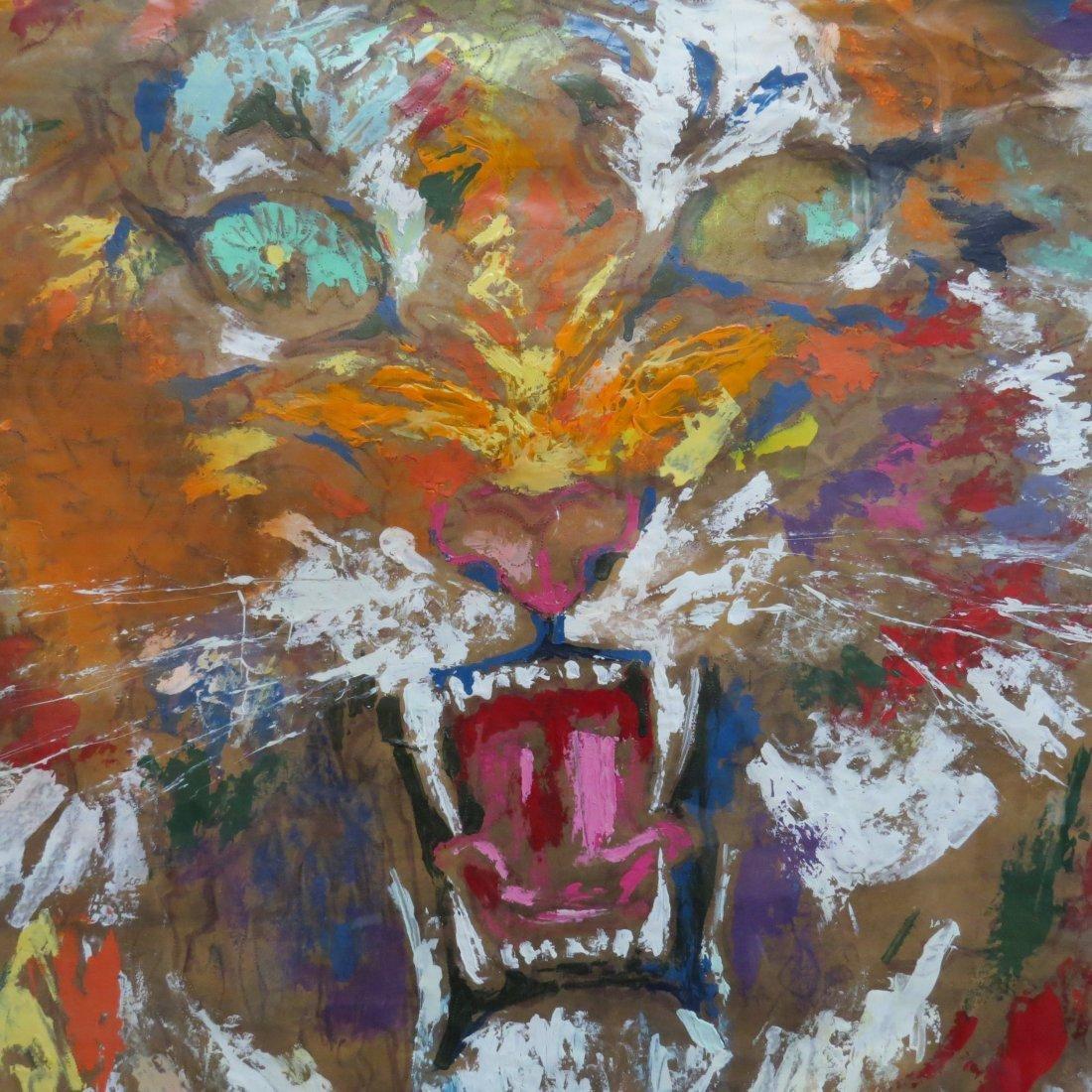 Leroy Neiman (American, 1921-2012) Tiger. - 9