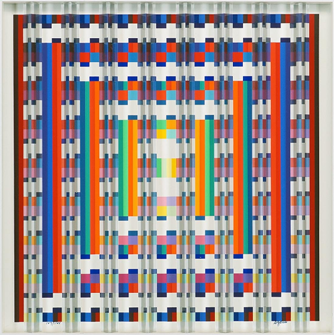 Yaacov Agam (Israeli, B. 1928) Title Unknown.