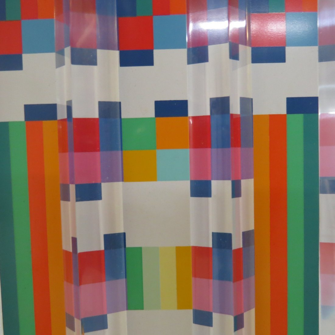 Yaacov Agam (Israeli, B. 1928) Title Unknown. - 7