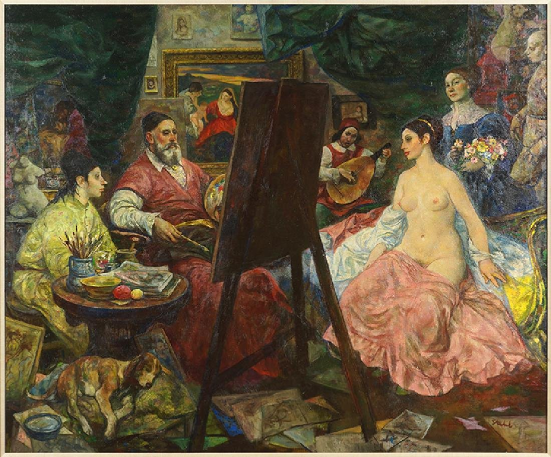 Ben Stahl (American, 1910-1987) Titian, The First