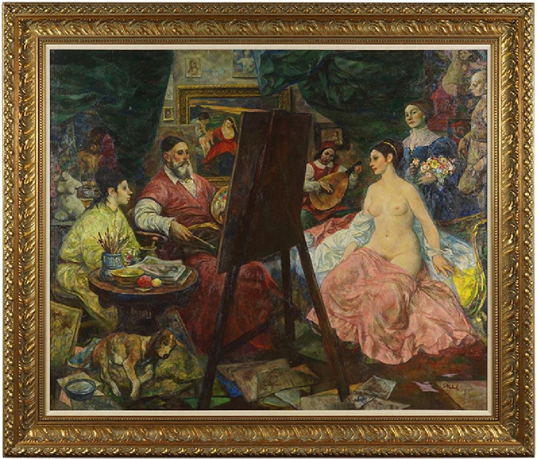 Ben Stahl (American, 1910-1987) Titian, The First - 2
