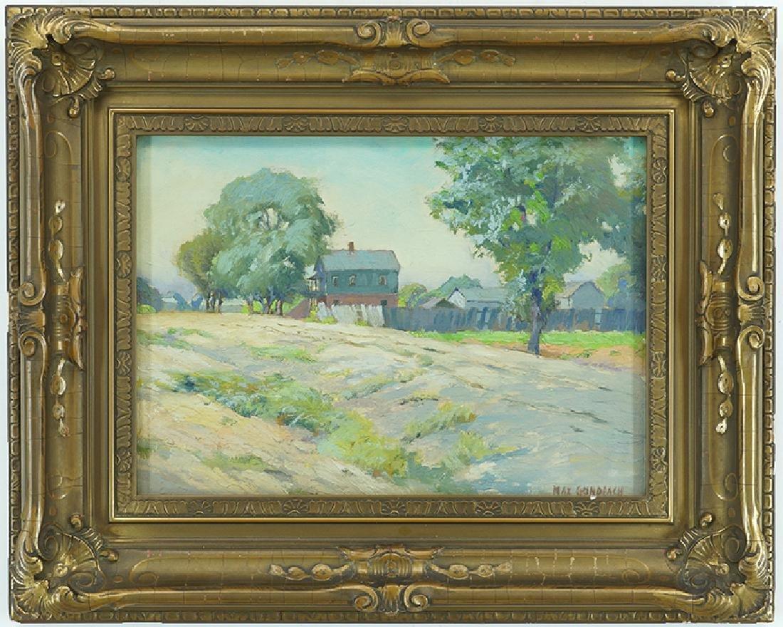 Max Gundlach (American, 1863-1957) Countryside Home. - 2
