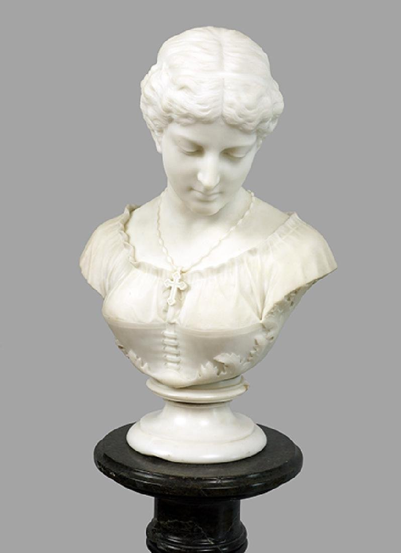 William Couper (American, 1853-1942) Bust of a Lady - 2