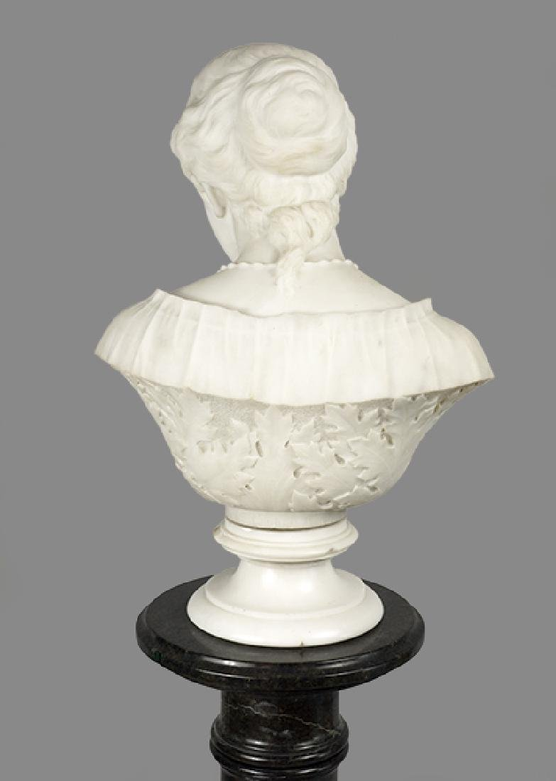William Couper (American, 1853-1942) Bust of a Lady - 4