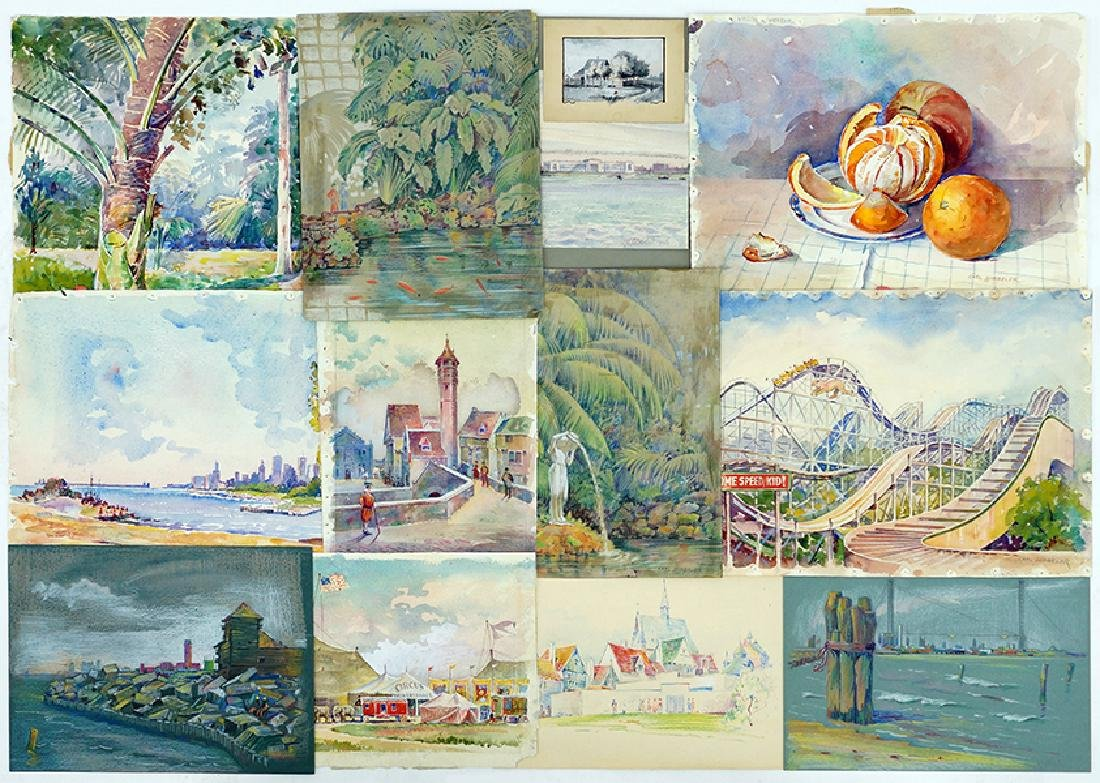Carl Hibbeler (American, 20th Century) 13 Works.