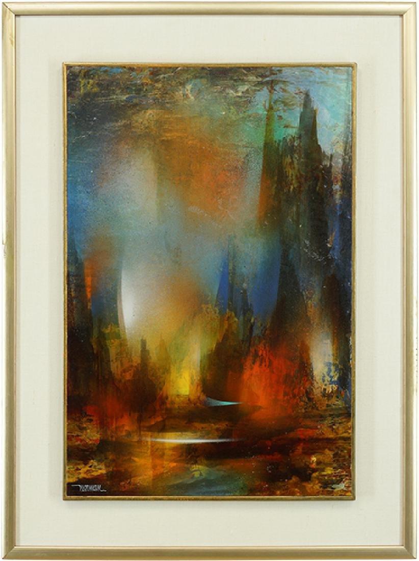 Leonardo Nierman (Mexican, B. 1932) Enchanted Valley. - 2