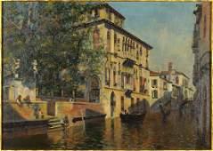 Artist Unknown (Italian, 19th-20th Century) Venetian