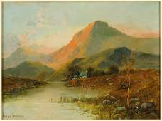 Arthur Stanford (British, 19th Century) Mountain