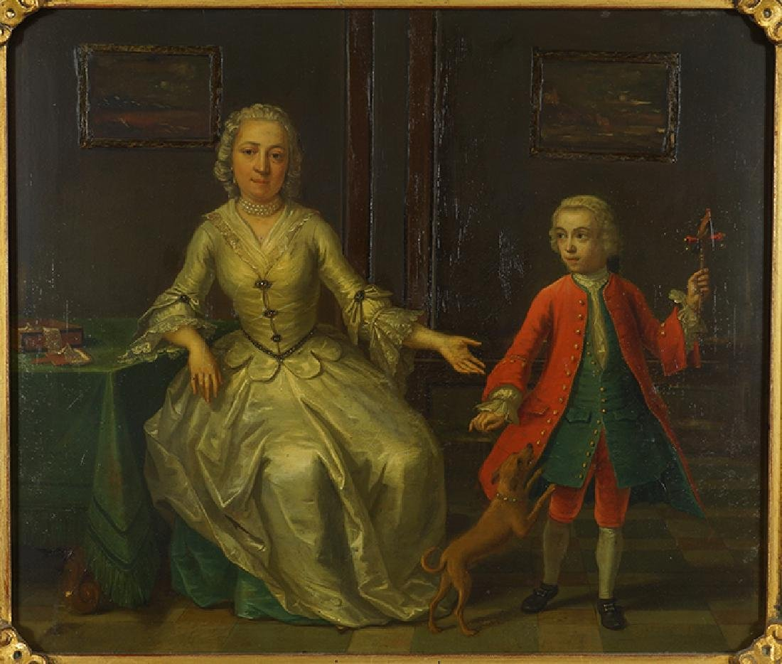 Circle of William Hogarth (British, 1697-1764) A Mother