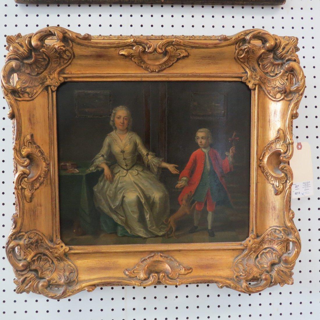 Circle of William Hogarth (British, 1697-1764) A Mother - 2