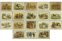 Currier & Ives (American, 19th Century) Nineteen Prints