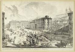 Giovanni Battista Piranesi (Italian, 1720-1778) Veduta