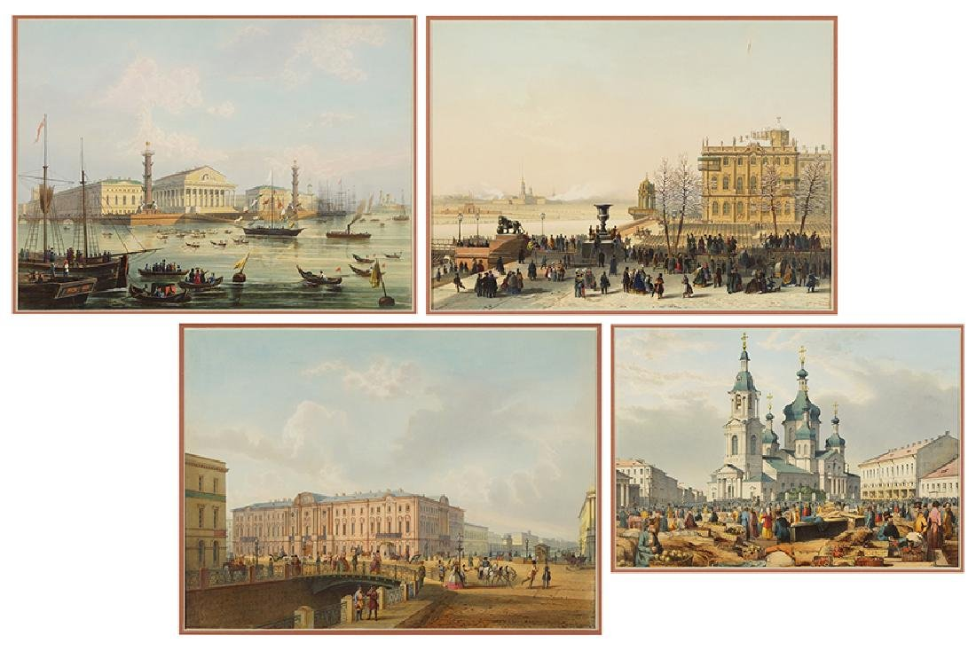 After Various Artists (19th Century) St. Petersbourg.