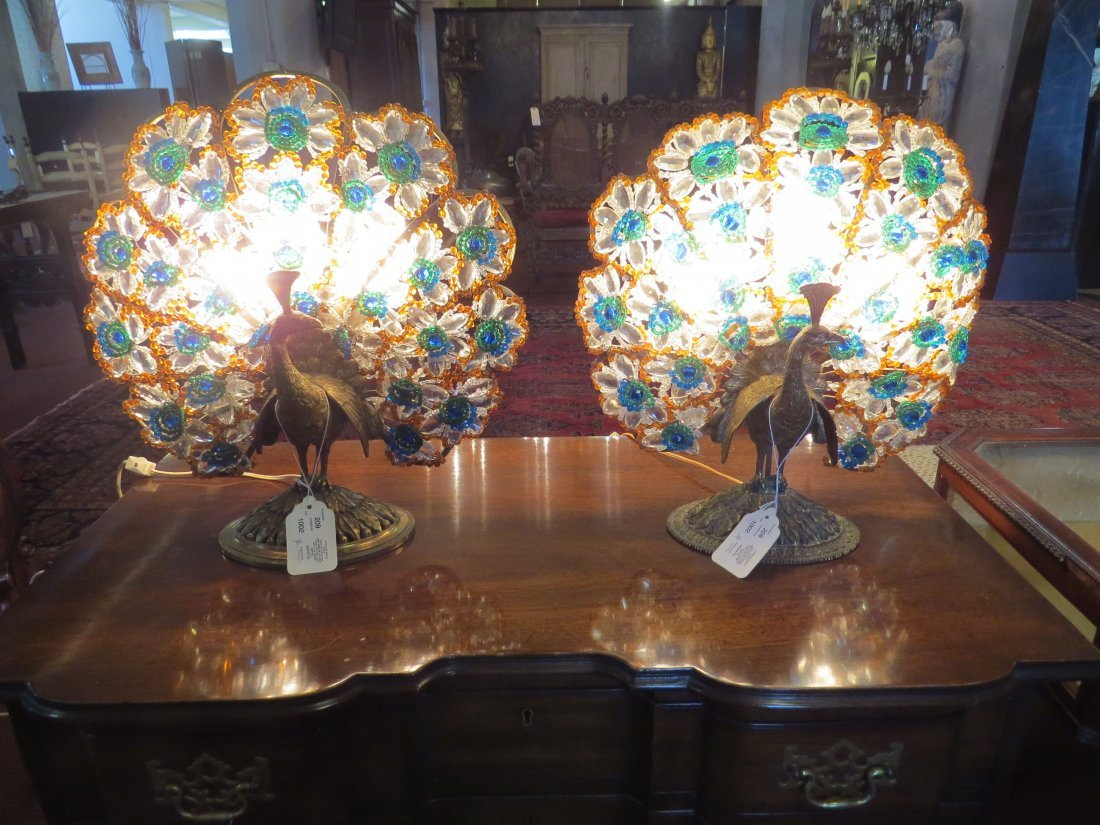 Two Table Lamps. - 3