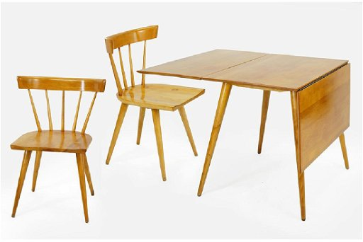 A Paul Mccobb Planner Group Table And Chairs