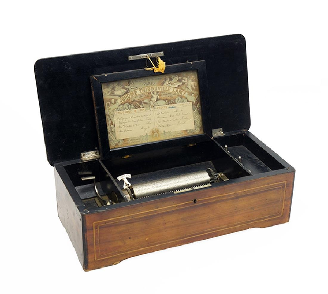 A French Music Box.
