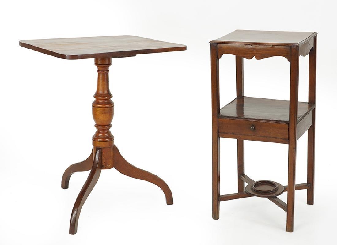 A Georgian Mahogany Table.