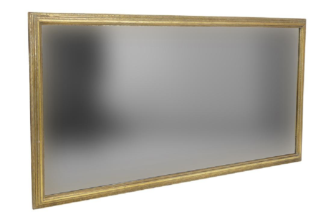 A Gold Painted Mirror.