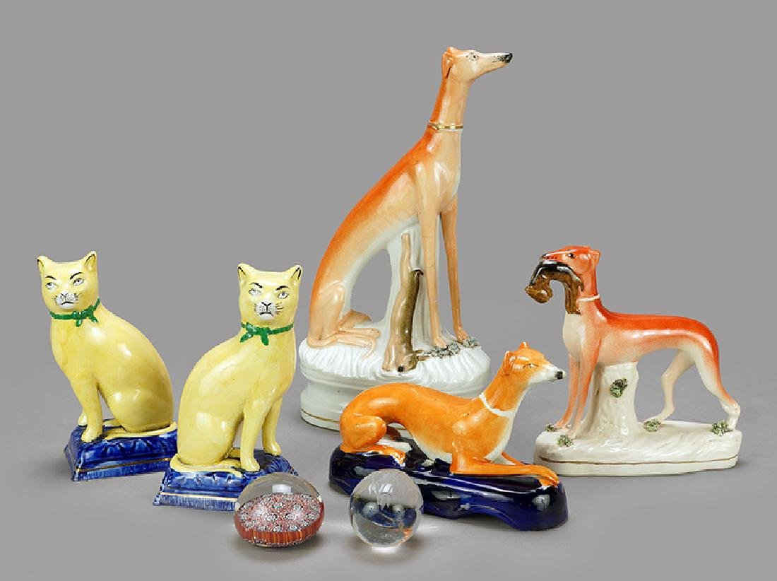 A Collection of Staffordshire Figures.