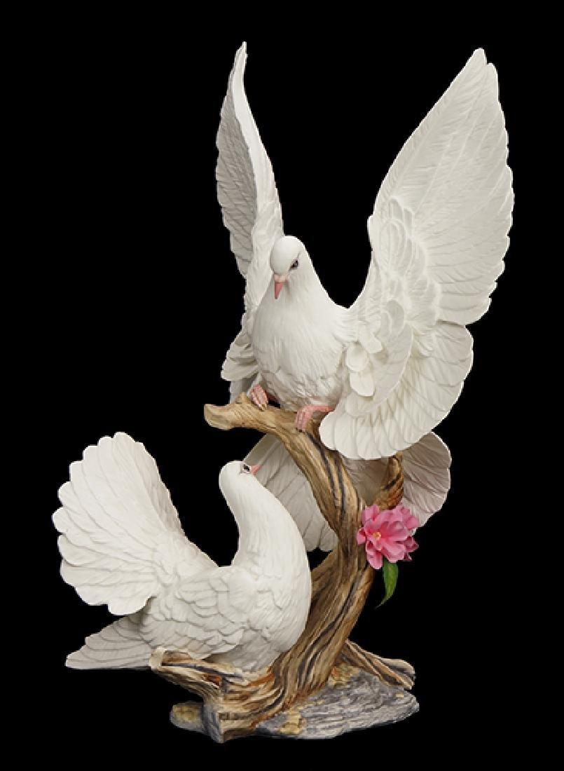 A Boehm Porcelain Figure.