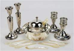 A Silverplate Caviar Server