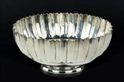 A Mexican Sterling Silver Bowl.