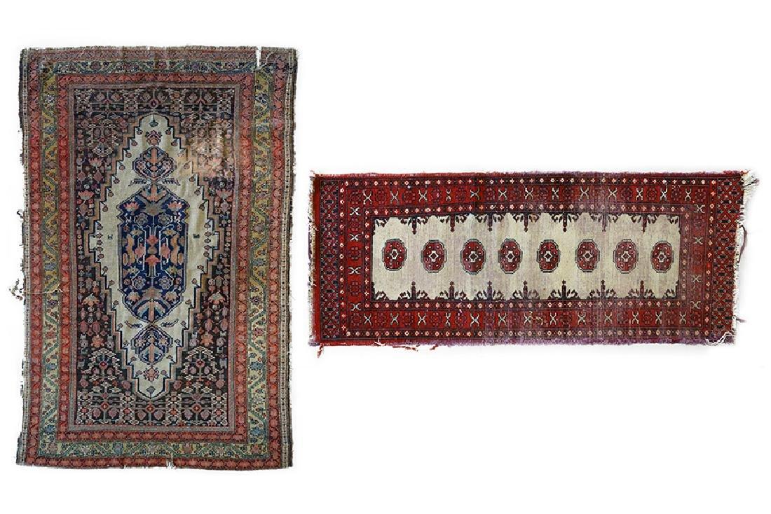 A Persian Wool Rug.