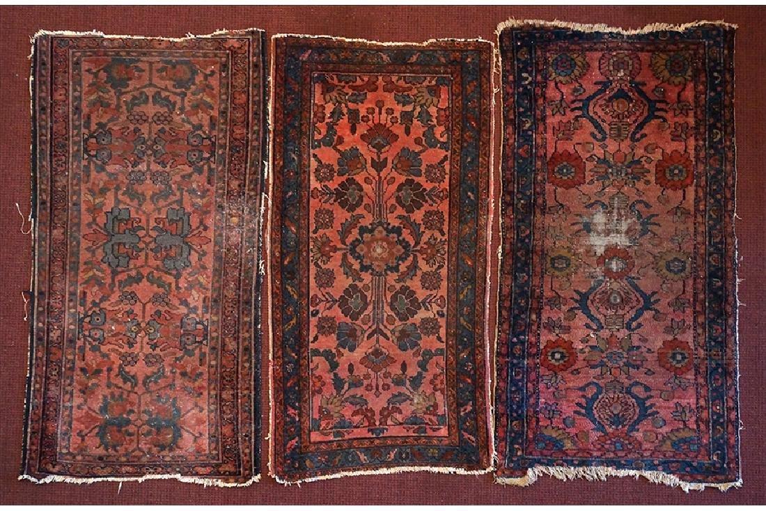 Three Persian Wool Rugs.