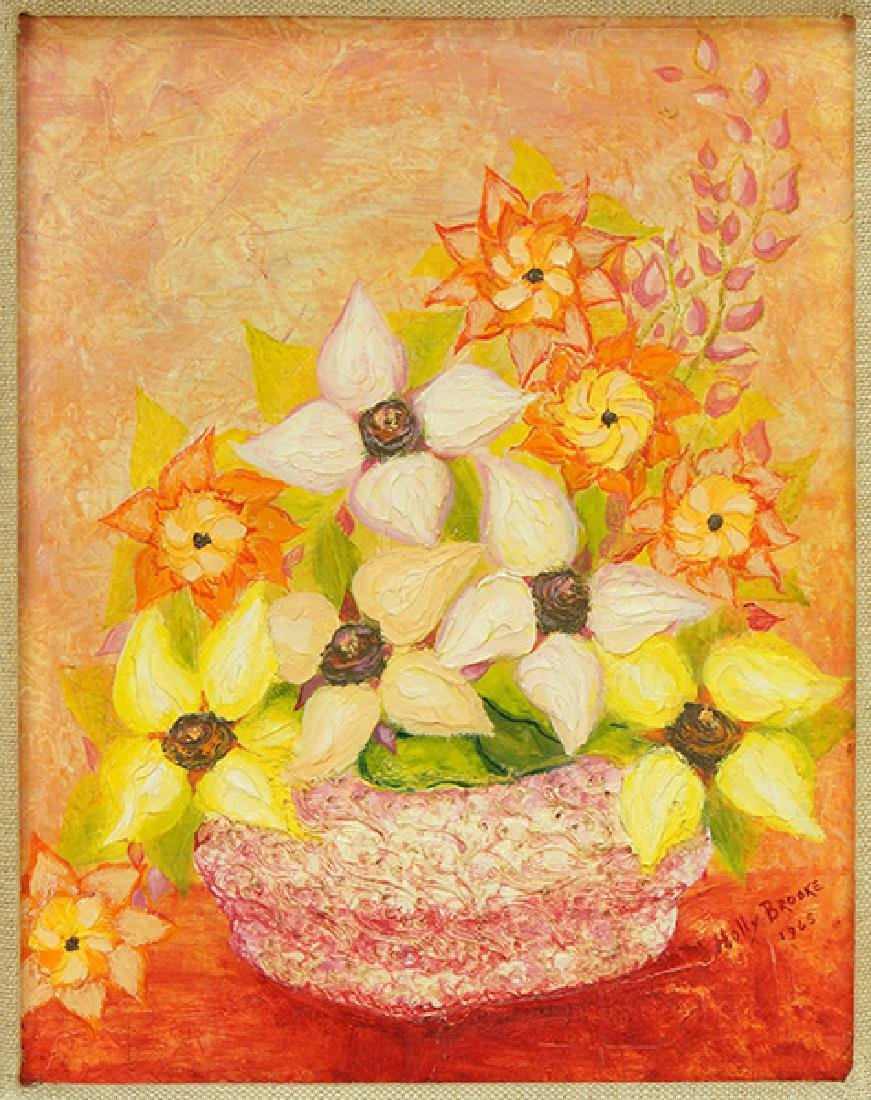 Holly Brooke (American, 20th Century) Still Life with