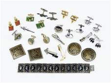 A Collection of Mens Jewelry