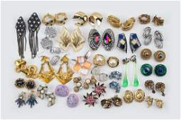 A Collection of Signed and Unsigned Earclips.