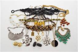 A Collection of Trifari Necklaces.