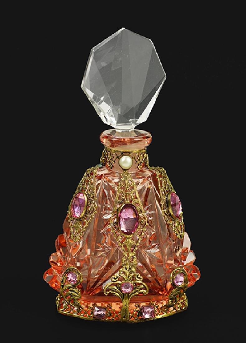A 1930s Czechoslovakian Perfume Bottle.