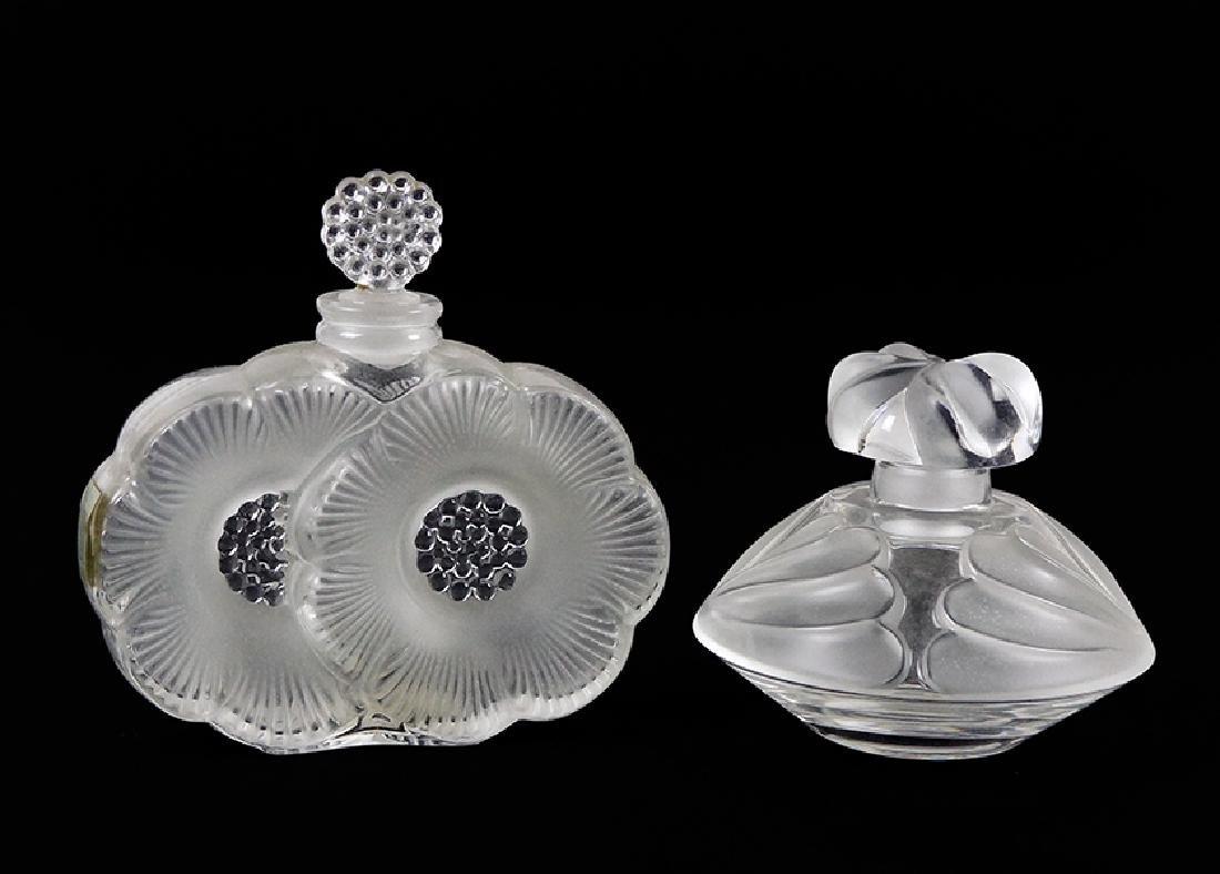 A Lalique 'Thais' Perfume Bottle.