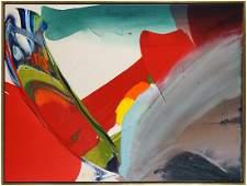 Paul Jenkins (American, 1923-2012) Phenomena: Cardinal