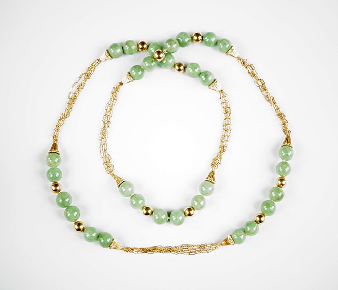 A Jade Necklace. - 2