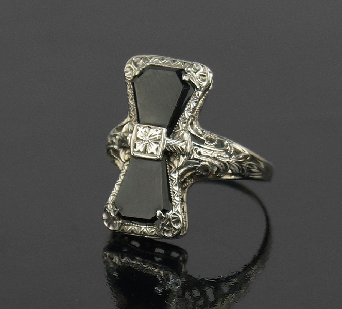 An Onyx Ring.